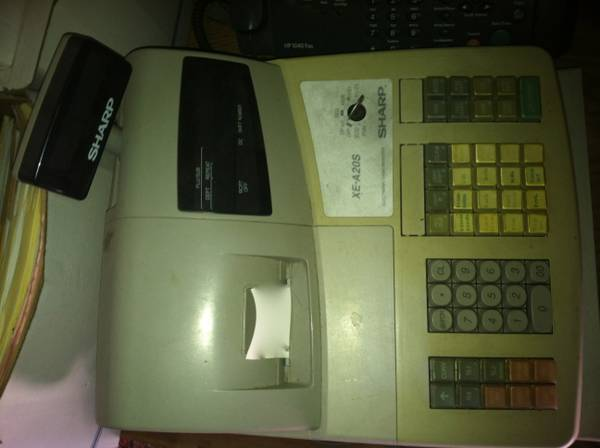 SLO - Sharp XE-A20S Register - $15 (Arroyo Grande)