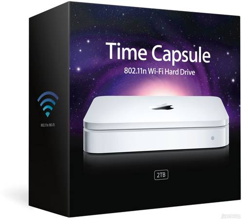 Apple Time Capsule 2T - $290 (Arroyo GrandeSLO)