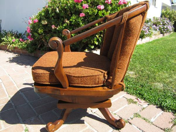 Vintage Rocking Chair has Hallmark of Tell City Chair Co. - $85 (Santa Maria)