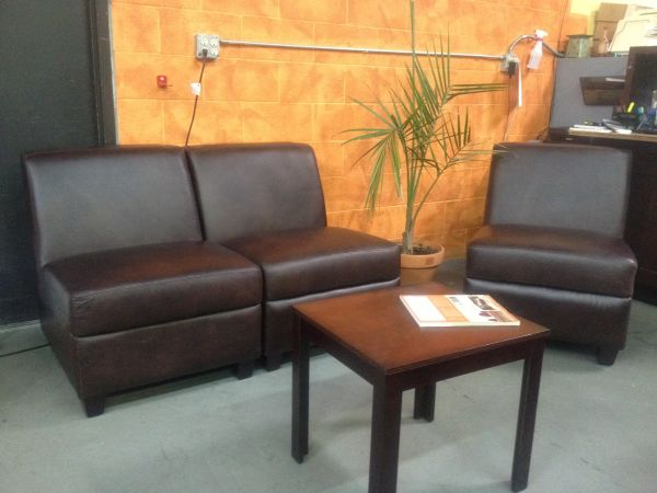 Top Grain Bernhardt Leather Chair or Couch (San Luis)