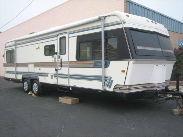 1988 Holiday Rambler Imperial travel Trailer sold new for $34K - $5900 (Call 8O5.538.O156)