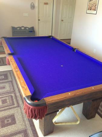 Olhausen pool table with ping pong top - $600 (Arroyo grande)