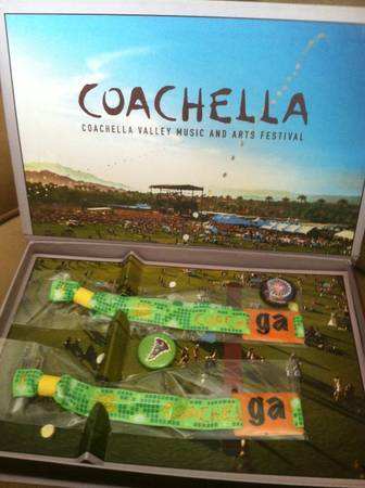 Coachella 1st Weekend 2 Tickets Wristbands - $450 (Los Angeles)