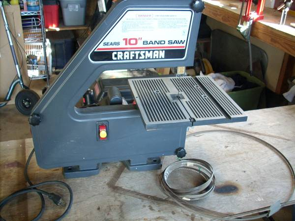 Craftsman band saw 10 inch table top - $50 (Paso Robles)
