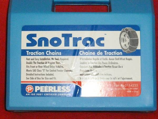 SNOW CHAINS - $45 (MORRO BAY,CA.)