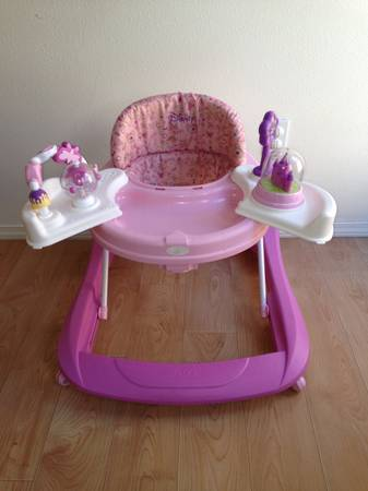 Safety First 1st Walker Disney Pink...ADORABLE Must See - $20 (Arroyo Grande)