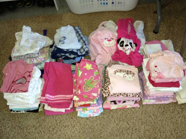 Toddler Clothes Shoes (girl), Potty Seat, Childproofing Items, etc (SLO)