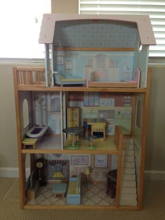 Doll House and Furniture - $100 (Paso Robles)