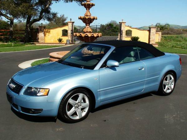 2004 Audi A4 - Convertible Clean Carfax (Nipomo - Auto Source Unlimited, LLC)