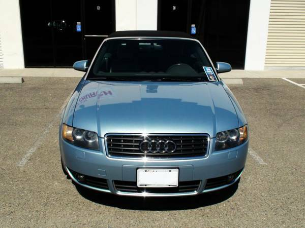2004 Audi A4 Cabriolet 1.8 Turbo - Easy Financing, Convertible, Bose (Nipomo - Auto Source Unlimited)