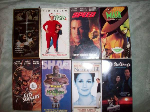 25 Movies 17 Misc.VHS for $5 (Arroyo Grande)