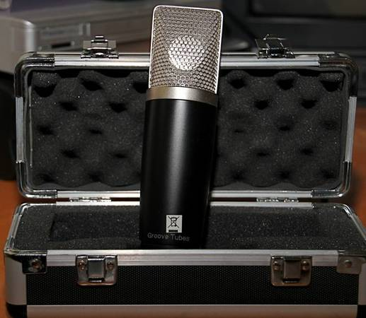 GROOVE TUBES Professional FET Condenser Mic - mint - $195 (Paso Robles)