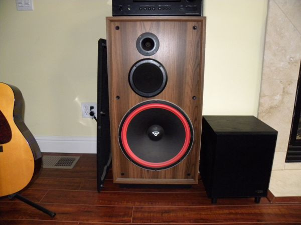 CERWIN VEGA DX-9 SPEAKERS - $450 (Grover Beach)