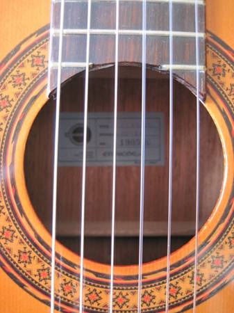70s Epiphone by S. Yairi Classical Guitar - $220 (Five Cities)