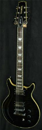 HAMER ARCH TOP QUILT TOP XT SERIES SATF ELECTRIC GUITAR-BLACK - $275 (Grover Beach)