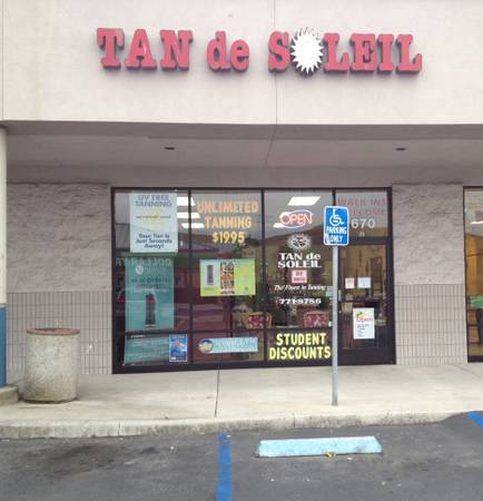 Tanning salon receptionist sales (Morro Bay)