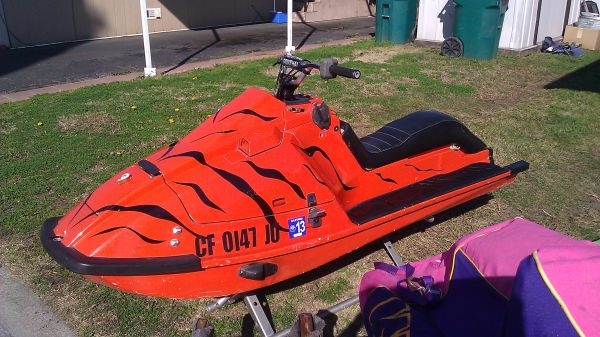 Kawasaki X2 jetski custome painted... RERUCED trade for QUAD - $1300 (stockton)