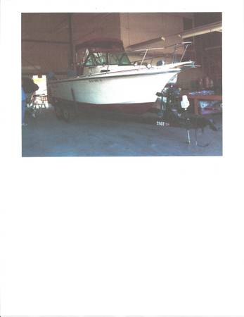 PRO LINE 1989 21 FT BOAT WITH CUDDY CABINENCLOSED COCKPITWALKAROUND - $10000 (Stockton San Joaquin County)