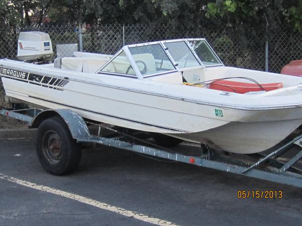 Marquis boat - $650 (North Highland)