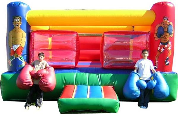 Inflateable Joust fighting - $1399 (tracy)