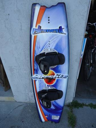 HYPERLITE ELEMENT WAKEBOARD WITH BINDIGINS AND BOOTS - $100 (LATHROP,  CENTRAL VALLEY,  BAY AREA)