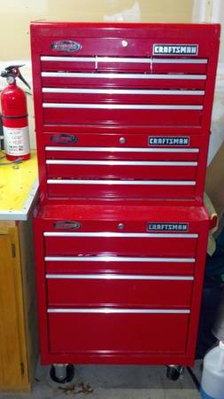 3pc Craftsman Ball Bearing Tool Chest Set - $400 (Stockton)