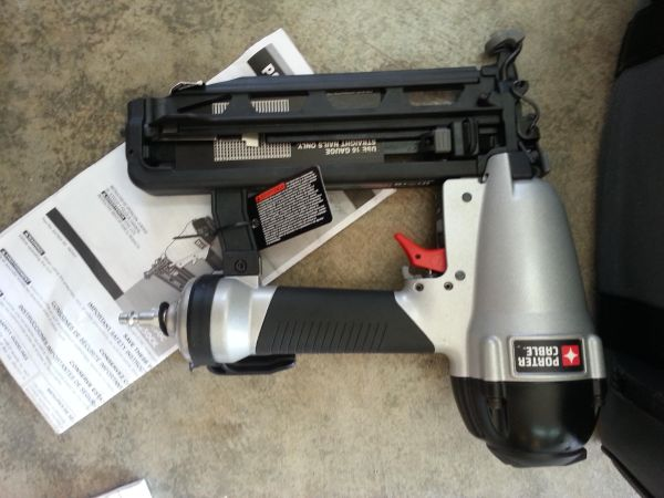 PORTER CABLE FINISH NAILER - $100