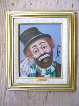 Red Skelton Painting of Freddie Limited Edition - $450 (Santa Rosa, CA)