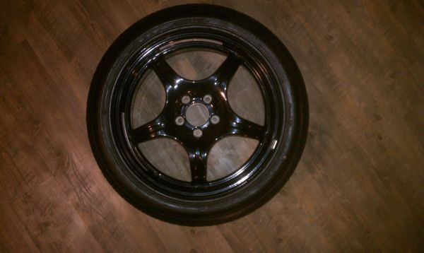 New Mercedes Benz Spare Tire and Wheel W220 S500 S55 S600 CL500 CL55 - $100 (Tracy)
