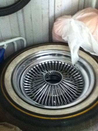 Spoke chevy rims 15 inch - $600 (Stockton)