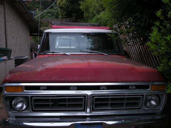 Truck- F-150 Ford super cab. 1976 whole parts truck. - $1500 (Lake Oroville CA)