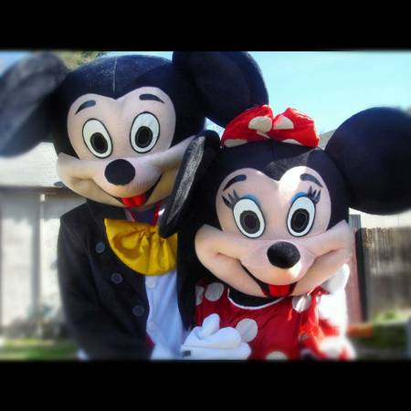 Birthdays Party Visits from Mickey and Minnie Mouse (We Party with YOU)
