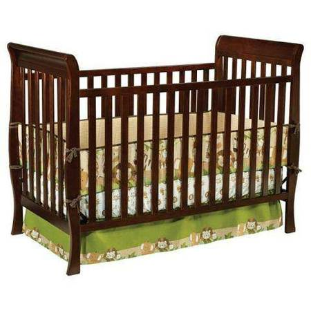 Delta 3 in 1 Crib - Espresso - $50 (Tracy)