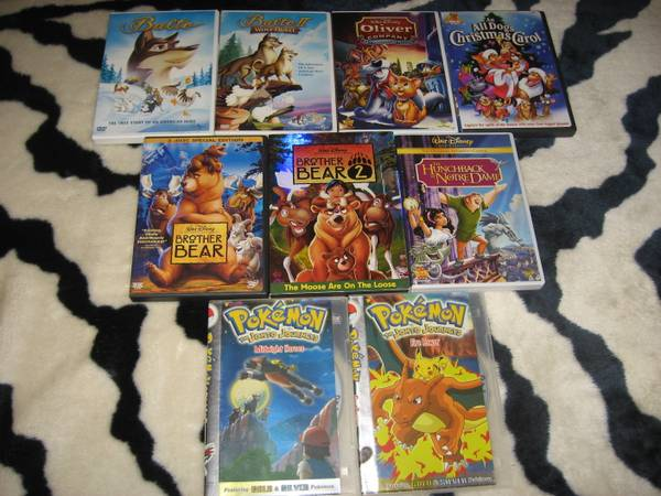 DISNEY DVDS DIGITAL COPIES - $2 (STOCKTON)