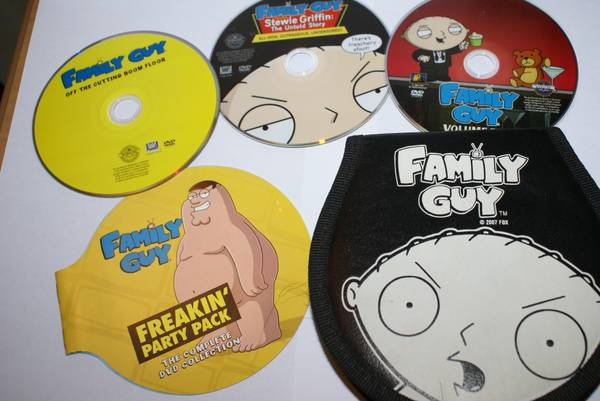 Family Guy DVD Collection Gift Set - $30 (Stockton,ca)