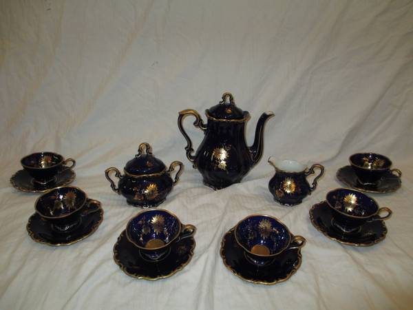 China CoffeeTea Set, West Germany Bavaria - $400 (Lockeford)