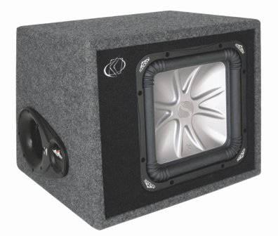 12 kicker L5 solo baric and kicker ported box - $100 (Stockton)