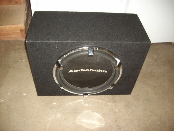 Audiobahn 15 inch Comp Sub With Box - $250 (Lodi trades welcome)