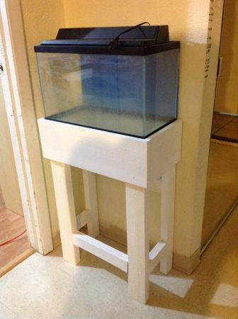 10 gallon Fish Tank, LightHood, Stand - $20 (Stockton)