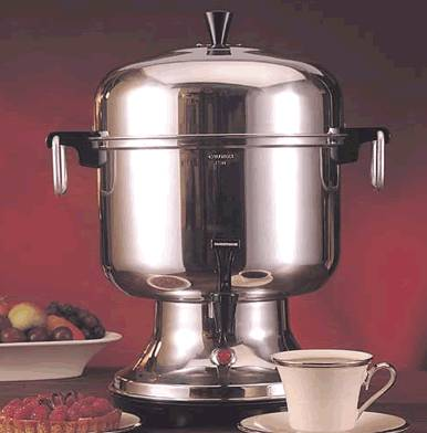 Farberware stainless steel COFFEE URN - $75 (TRACY)