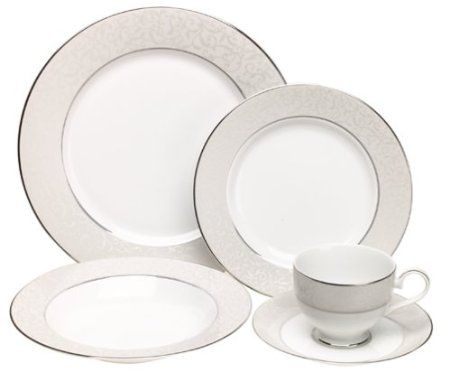 Mikasa Parchment Fine China 5 Piece Place Settings-9 each - $250 (Stockton)