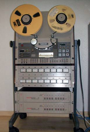 Vintage recording equipment 1 tape machine - $800 (Stockton)