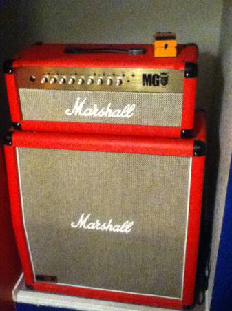 Marshall Special Edition MG100FX Half stack - $475 (Stockton)