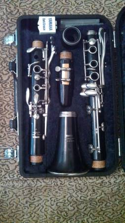 Yamaha 20 CLARINET and original case - $300 (Trinity Parkway)
