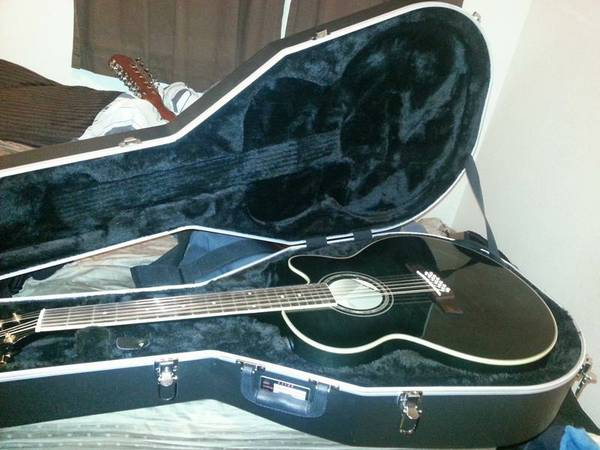 Ibanez 12-String Acoustic-Electric Guitar - $400 (Stockton)