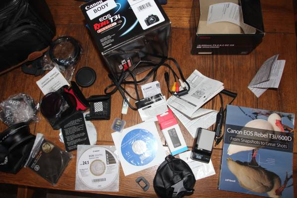 T3i DSLR, Sigma Zoom Lens and LOTS of accessories - $700 (Manteca)
