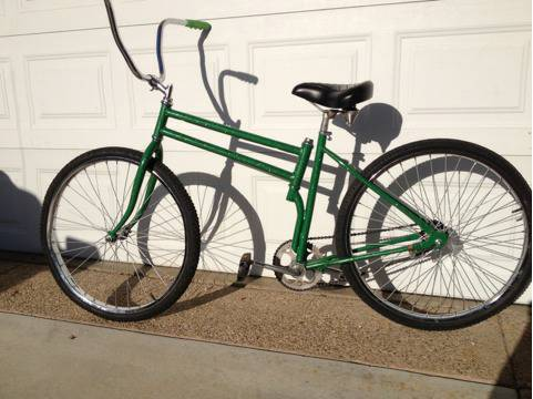 Custom Beach Cruiser Swing Bike - $150 (Simi Valley)