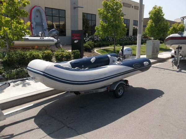 West Marine HPV 350 with Honda 15HP Outboard and Trailer - $2999 (Ventura)