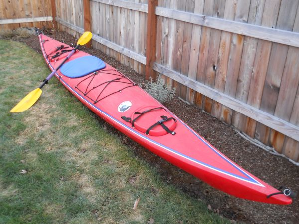 17FT SEA KAYAK MANY ACCESSORIES INCLUDED IN THIS PRICE - $849 (NORTH MALIBU, CA)