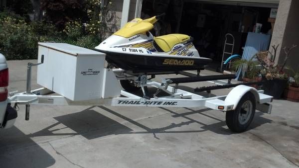 Watercraft double trailer - $900 (simi valley)